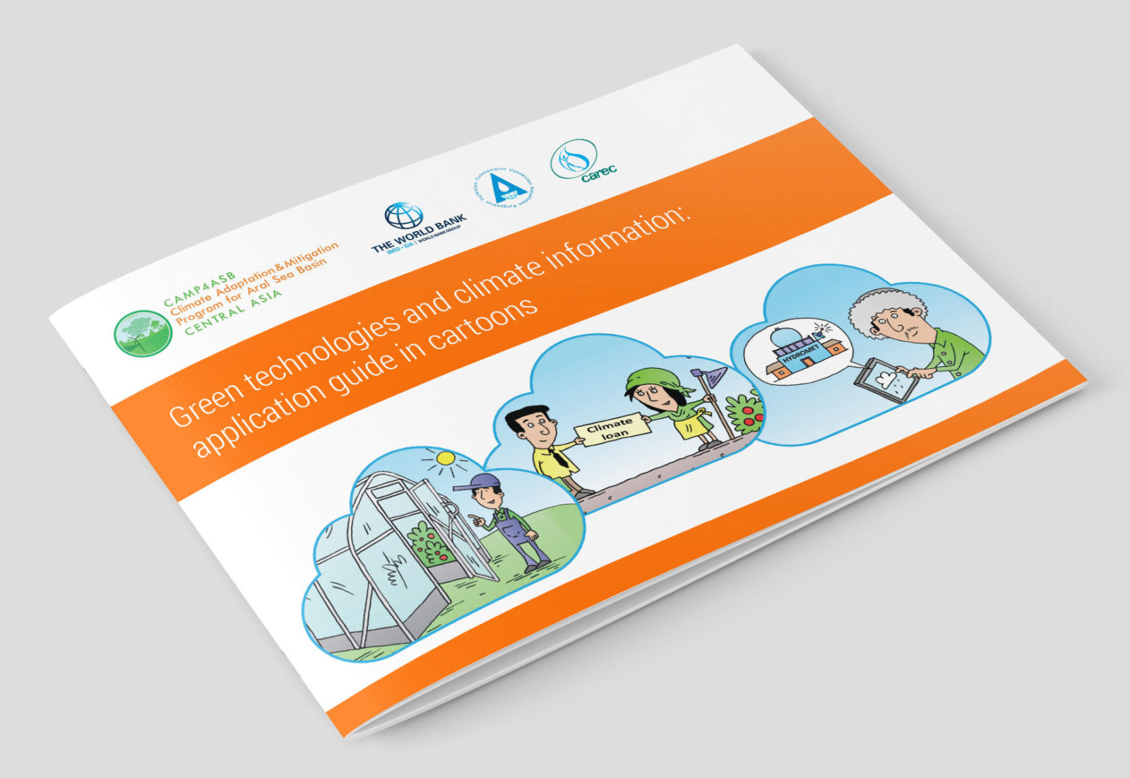 Green technologies and climate information: application guide in cartoons