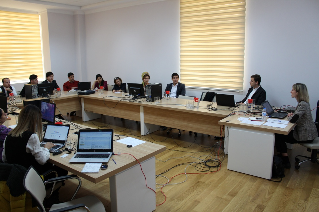 How climate change will affect the Murgab River: training on hydrological modeling in Turkmenistan