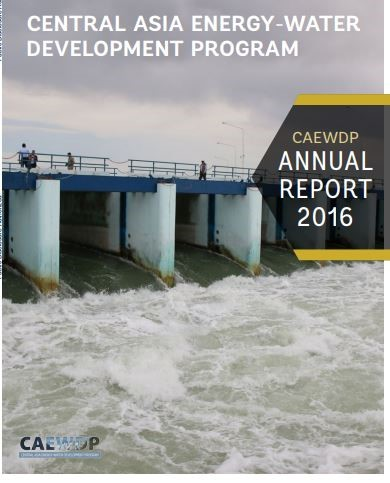 Central Asia energy-water development program : annual report 2016