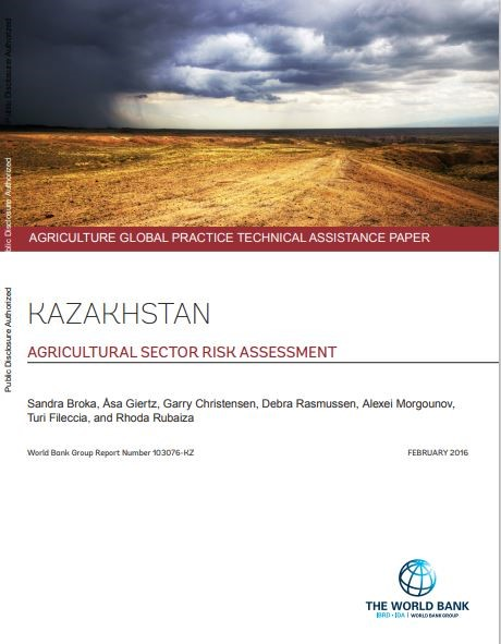 Kazakhstan - Agricultural sector risk assessment