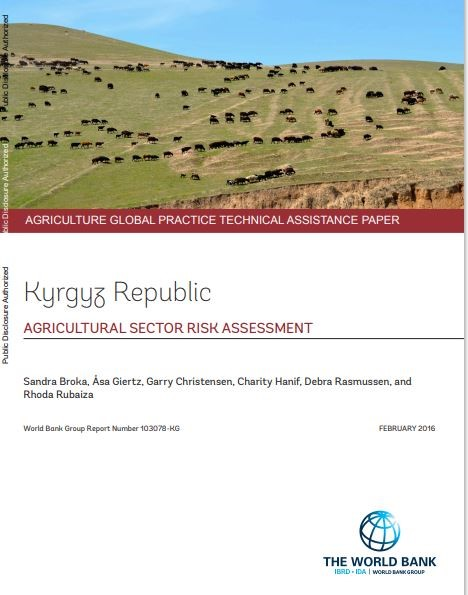 Kyrgyz Republic - Agricultural sector risk assessment