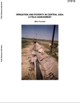 Irrigation and poverty in Central Asia : a field assessment